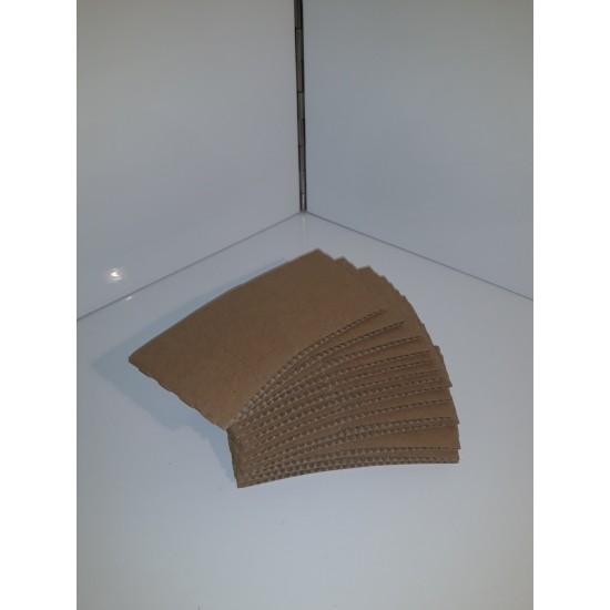 Large brown cup sleeves 12/16oz