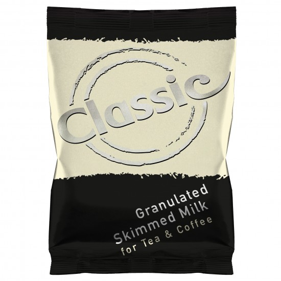 Granulated skimmed milk