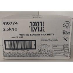 Sugar sachets - white