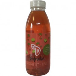 Desfruitas - strawberry and kiwi fruit drink - 12 x 500 ml