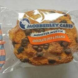 Choc chip and orange monster muffin