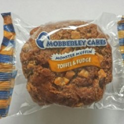 Toffee monster muffin
