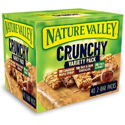 Nature Valley Crunchy variety pack 40-pack