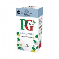 PG tips 6 x 25 Camomile Tea Enveloped Bags