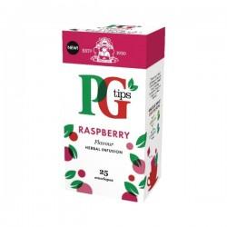 PG tips 6 x 25 Raspberry Tea Enveloped Bags